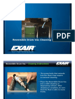 exair - reversable drum vac cleaning instruction presentation