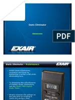 exair - static eliminator cleaning training presentation