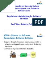 Aulas - Arquitetura e Adminisração de Banco de Dad.pdf