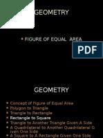 Figure of Equal Area