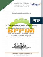 Certificacion BPPIM Simon Bolivar