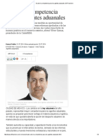 Se Abre La Competencia Para Los Agentes Aduanales _ El Financiero