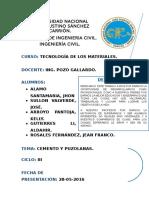 Cemento y Puzolanas - La Reral