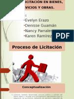 Proceso de Licitación