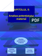 05_Analiza Potentialului Material