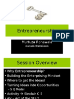 Entrepreneurship - Getting Started