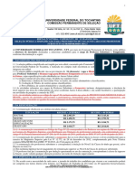 Versão IV - Edital de Abertura Nº 017-2016 - Prof. Substituto e Temp. 2016- 3