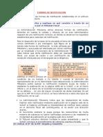 FORMAS DE NOTIFICACIÓN - SUNAT