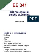 Presentación Programa Ee 341-2016