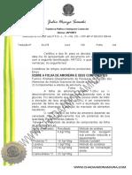 Documento Juramentado Folha Da Amoreira (1)