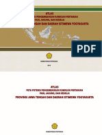 Atlas Peta Potensi Pengembangan Kawasan Pertanian Padi Jagung Kedelai Provinsi Jateng dan DIY