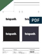 Master Logo Client Sheet Template