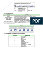 Proc. Mecá. Desmonte de Reductor Simetro Molino 6