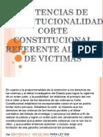Sentencias de La Corte Constitucional