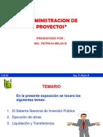 1 Administracion de Obras 2011