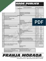 Plan Contador Publico 2003