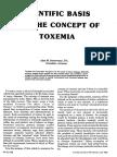 Scientific Basis of Toxemia - 1981