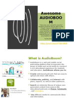 AudioBoom Presentation 2016 - Final (1)