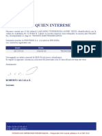 Certificado Tla