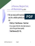 Marginal Revenie - ECON