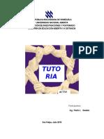Acitidad 1 y 2 - Tutoria I Pedro Guedez Julio 2015