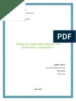 Trabajo singular, Arte prehistórico y prehispánico.