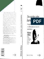 Wilhelm Dilthey - Dos Escritos de Hermenéutica