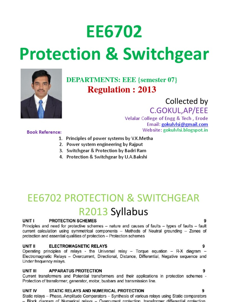 EEProtection And Switchgear R Relay Transformer - Static relay working principle