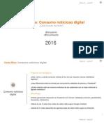 Consumo Noticioso Digital 2016