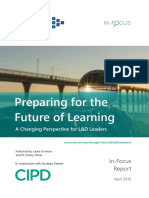 Preparing for the Future of Learning 2016 a Changing Perspective for l and d Leaders