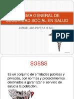 Sistema General de Seguridad Social en Salud Colombia