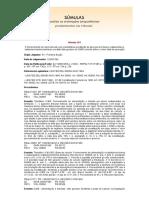 SUM. 163 - ICMS Sobre o Total Da Operação Em Bares e Restaur. - Fornecimento de Mercadorias Com Prestação de Serviços Em Bares e Restaurantes Icms Valor Total Da Operação