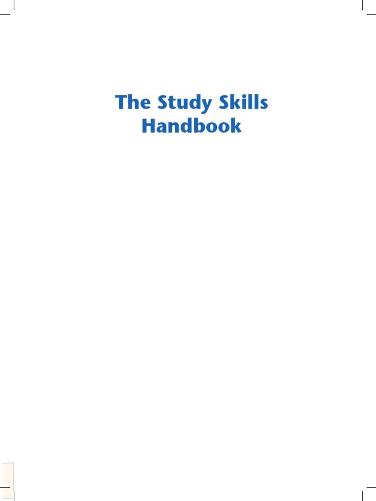 Study skills handbook study skills learning fandeluxe Image collections