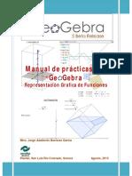 Practicando Grafica de Funciones Con GEOGEBRA 5