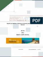 Newsletter Sociedad Española de Psiquiatría Legal, Julio 2016
