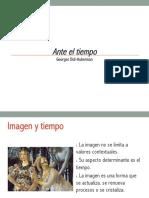Didi Huberman Ante El Tiempo Presentación (1)