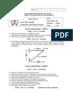 Unit Test II - ME6603 Qp