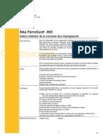 aditivo inhibidor sikaferrogard930