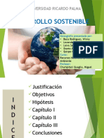 DESAROLLO SOSTENIBLE PPT