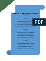 Himno de La Universidad Técnica de Machala