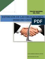 Extinción de Las Obligaciones - Derecho Civil II