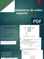 Sistemas Dinamicos de Orden Superior