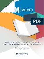 WESM Participant Handbook Vol4
