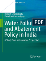 (Global Issues in Water Policy 10) Debesh Chakraborty, Kakali Mukhopadhyay (auth.)-Water Pollution and Abatement Policy in India_ A Study from an Economic Perspective-Springer Netherlands (2014).pdf