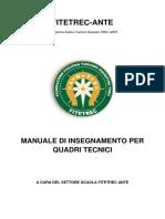 Manuale Di Insegnamento FITETREC ANTE