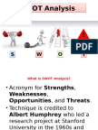 SWOT and STREAMS analysis.pptx