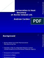Waste Incineration Heat Recovery at Roche Ireland