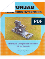 AAAC HYDRAULIC CONDUCTOR JOINTING MACHINE