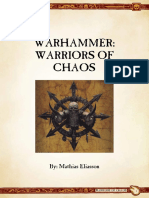 Ravening Hordes - Warrior of Chaos 9th Ed