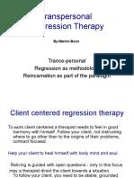Regression Therapy Presentation